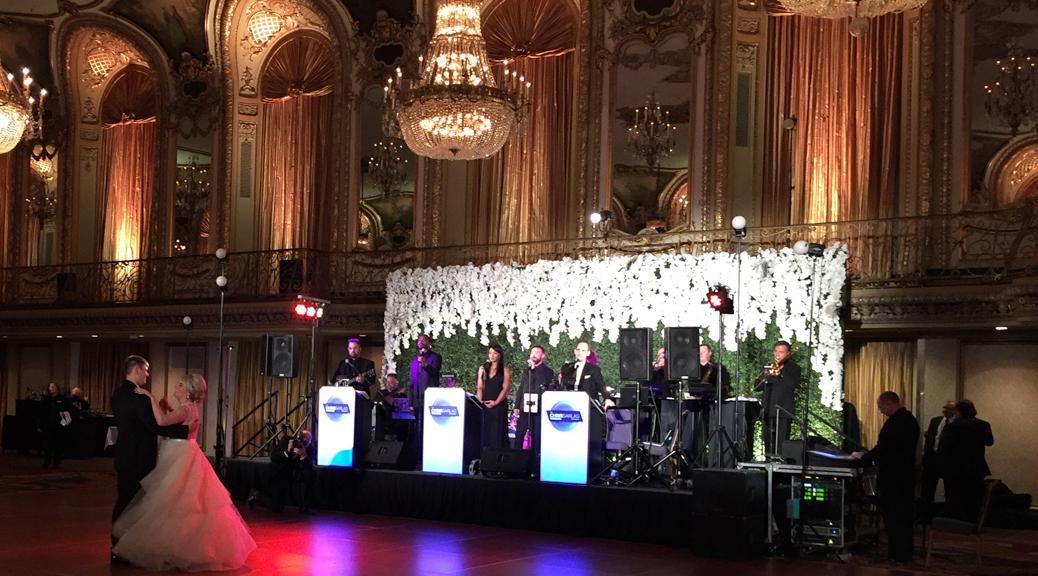 Chicago Wedding Band Performed For Anastasia Bobbys Wedding At
